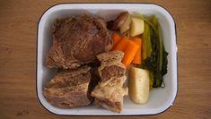 Hovězí vývar - Kuchařka pro dceru Pot Roast, Steak, Ethnic Recipes, Food, Carne Asada, Roast Beef, Essen, Steaks, Meals