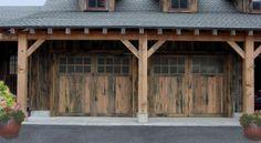 Amarr garage door... Rustic