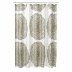 Pippuriker Sage Cotton Shower Curtain