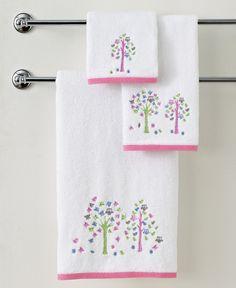 "Kassatex Bath Towels, Merry Meadow 12"" Square Washcloth"
