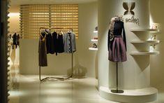We are a global and creative design studio in Geneva, Tokyo and Beijing. Stores, Mannequin, Wardrobe Rack, Creative Design, Tokyo, Presentation, Retail, Architecture, Coat
