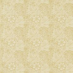 Wing chairs. The Original Morris & Co - Arts and crafts, fabrics designs by William Morris & Company | Products | British/UK Fabrics and Wallpapers | Marigold (DM6F220316) | Morris Archive Prints