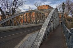 Puente de Hierro (Palencia), por Juan Esvall