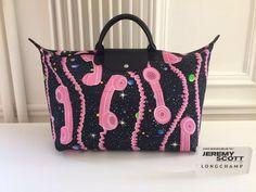 Longchamp & Jeremy Scott- Give Me A Call