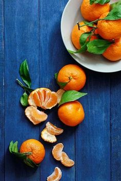 The French Tangerine: ~ blue and orange 2