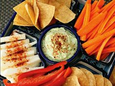 Avocado dip — perfect to pair with chips or veggies!  http://greatideas.people.com/2014/05/05/cinco-de-mayo-recipes-margaritas-guacamole/