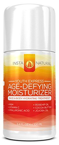 Anti-Aging Facial Moisturizer Cream – Made With Natural & Organic Ingredients for Men and Women With Dry, Oily & Aging Skin. Eye Cream Reviews, Best Anti Aging Creams, Anti Aging Facial, Body Treatments, Face And Body, Moisturizer, Skin Care, Youth