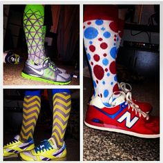 Wow, how can you go wrong when your shoes match your LYF socks!