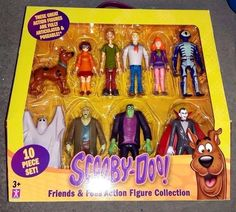 SCOOBY DOO Friends and Foes SET 10 FIGURES NEW in Toys & Games, TV & Film Character Toys, TV Characters | eBay! Scooby Doo Toys, Kids Birthday Presents, Toys For Boys, Boy Toys, Kid Movies, Cool Cartoons, Board Games, Action Figures, Projects To Try