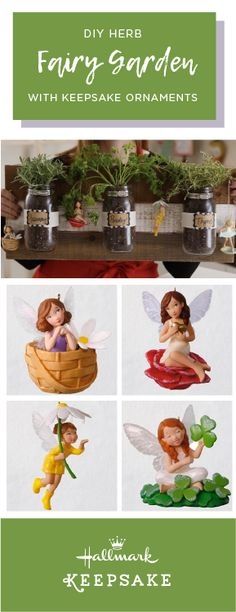 What could be a sweeter way to get the summer creativity flowing than by checking out this DIY Herb Fairy Garden with Hallmark Keepsake Ornaments? With something for both you and your kids, this fun project is sure to be a new favorite. Diy Herb Garden, Hallmark Keepsake Ornaments, Hello Summer, Fun Projects, Birthday Ideas, Creativity, Fairy, Herbs, Christmas Ornaments
