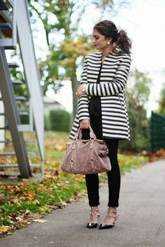Doesn't German blogger FashionHippieLoves style out our stripe coat oh so well...