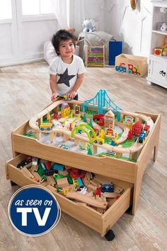 Image for Reversible City and Train Table Set from studio