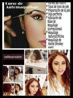 SACA PARTIDO A TU BELLEZA, VEN Y APRENDE HACERLO TU MISMA !!  TIENES la oportunidad de tomar el Curso de Automaquillaje ? 💄, TE ESPERAMOS, llama y reserva tu lugar. Atrévete!!!! Aquí en vellesa.salon 5543658808 #vellesasalon #judithluna #janelly #luzma #makeup #hair #cortes #peinados #maquillajes