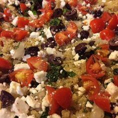 Greek Quinoa Allrecipes.com