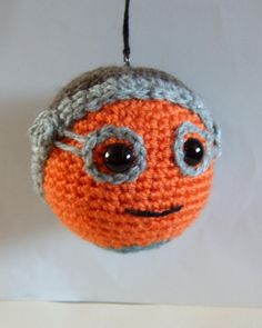 New! Maz Kanata, Star Wars inspired crochet Baubles, The Force Awakens! by pamcrafteduk on Etsy