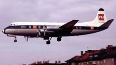 The BEA Vickers Viscount: My first experience of flying. Still love it :)