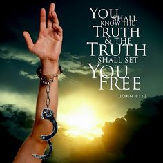 """So Jesus said to the Jews who believe in him, """"If you abide in my word, you are truly my disciples, and you will know the truth and the will set you free-John Scripture Verses, Bible Verses Quotes, Jesus Quotes, Bible Scriptures, Faith Quotes, Powerful Scriptures, Bible Truth, Spiritual Warfare, Know The Truth"""