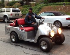 Fuller Hot Rod golf cart