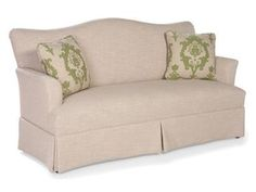 Shop+for+Fairfield+Chair+Company+Sofa,+2770-50,+and+other+Living+Room+One+Cushion+Sofas+at+Brownlee's+Furniture+in+Lawrenceville,+GA.+Shown+with+optional+contrasting+fabric+on+throw+pillows.
