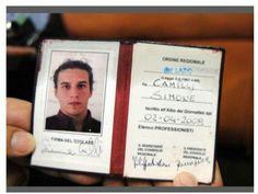 13/08/14 Il giornalista Simone Camilli ucciso a #Gaza da una bomba israeliana a 35 anni, nato a Pitigliano.