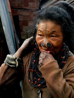 Apatani Lady Arunachal Pradesh. Explore the hidden land with us neroutes.com