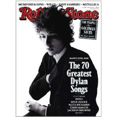 Rolling Stone Magazines covers as wall display of favorite artists