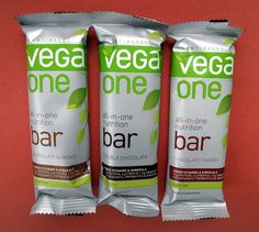 Vega One All-In-One Nutrition Bars.