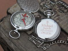 Confirmation Gift, Engraved Personalized Confirmation Gift, Confirmation Gift for Boys, Engraved Pocket Watch