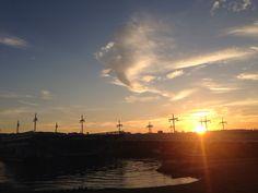 Sunset over bosphorus..