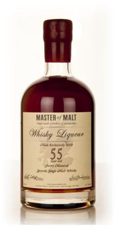 World's Oldest Whisky Liqueur: Master of Malt's 55 Year Old Speyside Spirit Good Whiskey, Cigars And Whiskey, Bourbon Whiskey, Alcohol Bottles, Liquor Bottles, Scotch Whisky, Speyside Whisky, Master Of Malt, Single Malt Whisky