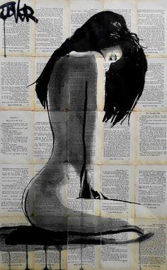 "Saatchi Art Artist Loui Jover; Drawing, ""marigold"" #art"