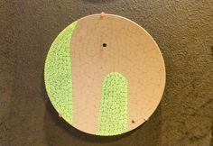 Uno dei piatti della design collection dell'azienda Ercole Moretti, che reinterpreta la murrina in chiave contemporanea