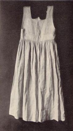 Lower garment made in 1st half of 16th century, Walcher, Werke der Volkunst I, 1923