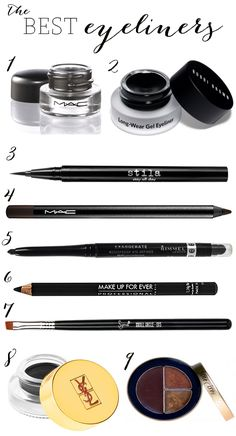 Eyeliner comes in many formulas, and it can be hard to pick the right one for you. To make it easier, I've narrowed down my favorites in the most popular categories. Here are my top picks for liner...