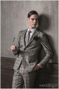 더운 여름에도 품격있는 남성을 완성시키는 슈트 컬렉션, 블랙라펠 Well Dressed Men, Double Breasted Suit, Suit Jacket, Suits, Jackets, Fashion, Skinny Suits, Men, Down Jackets