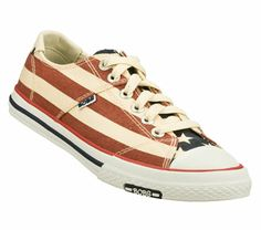 I want SKECHERS Women's Bobs Utopia - Patriot Lace-Up Sneakers only $48.00