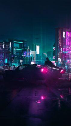 Cyberpunk 2077 Batman Wallpaper