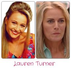 Lauren Turner (nee Carpenter) Sarah Vandenbergh - 1993-1994 Kate Kendall - 2013-