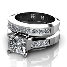 Engagement Ring, Wedding Ring, Jewelry, Diamonds, White Gold