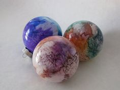 Glass Ornament Tutorial - love these!