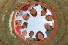 Earth bag building, Japan, Kumamoto Earth Bag, Kumamoto, Mona Lisa, Japan, Building, Artwork, Bags, Art Work, Handbags