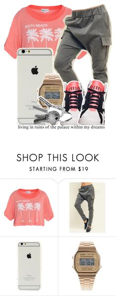 """""""eres de...."""" by liveyourlife247 ❤ liked on Polyvore featuring Wildfox, Fashion Diva, Casio and Retrò"""