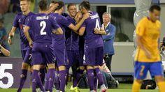 Fiorentina super, 2-1 con il Barcellona - Tuttosport