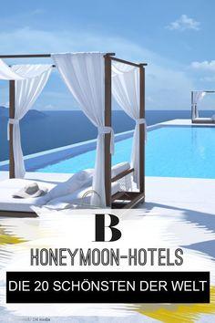 Honeymoon-Hotels: Das sind die 20 schönsten der Welt. Wohin geht's in den Flitterwochen? Die Erwartungen sind hoch, schlie�lich soll der Honeymoon der schönste Urlaub ever werden. Volil� : die 20 schönsten Honeymoon-Hotels der Welt.