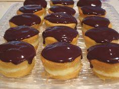 Boston Creme Pie Cupcakes..yum!  Use Betty Crocker gluten free cake mix!