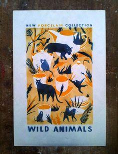 Wild Animals Online Gallery, Wild Animals, Presents, Graphic Design, Poster, Art, Gifts, Art Background, Kunst