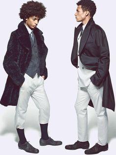 Ysham Jackson and Henry Pedro Wright, Alexander McQueen Fall 2012