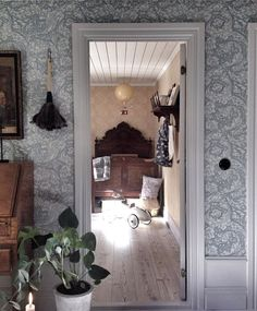 Love this wallpaper Interior Design Living Room, Interior Decorating, Creation Deco, Inspirational Wallpapers, Scandinavian Interior, My Dream Home, Interior And Exterior, Farmhouse Decor, Decoration