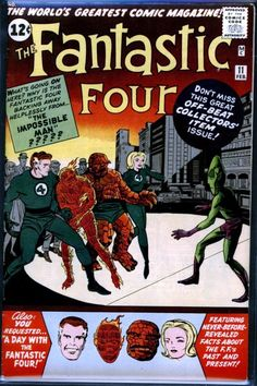 Fantastic Four # 11 , February 1963 , Marvel Comics Vol 1 1961 tumblr_niufn1UwrY1rn55nzo1_540.jpg (540×810)