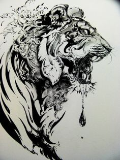 Tiger Illustration I love this I want this